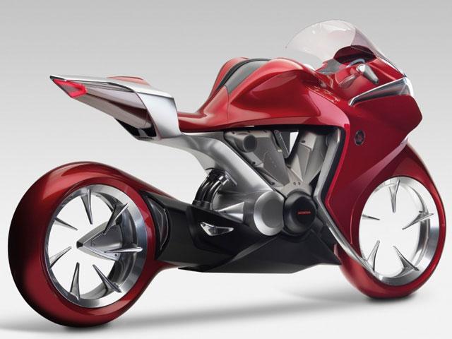 """Novedades 2009: Honda V4 """"Concept bike"""""""