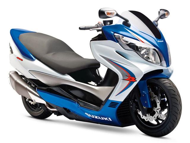 Imagen de Galeria de Suzuki Burgman 400 Concept Scooter
