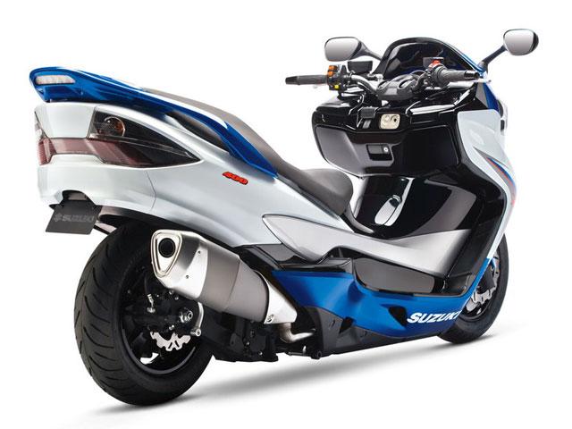 Suzuki Burgman 400 Concept Scooter
