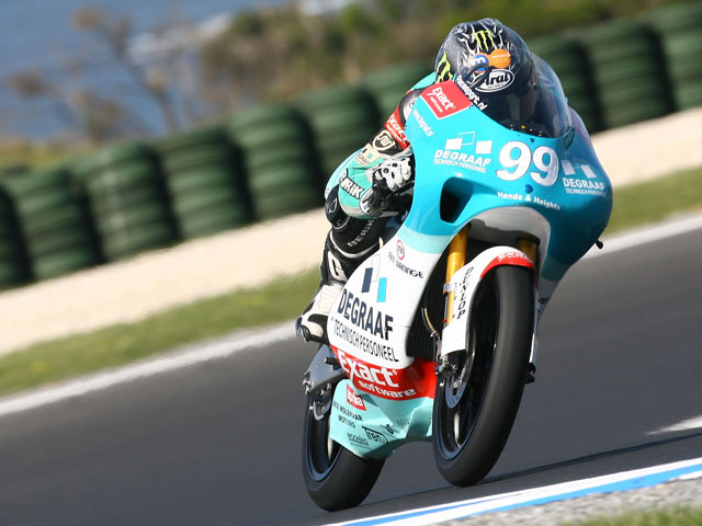 Andrea Iannone (Aprilia), pole provisional en Malasia