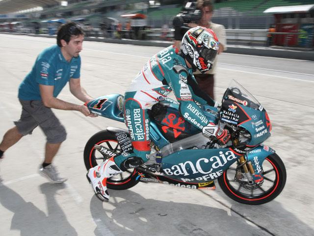 Iannone (Aprilia) se queda con la pole de ayer
