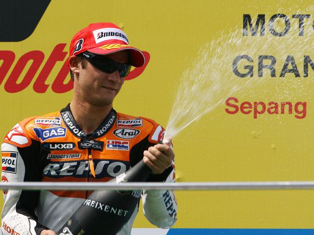 """Valentino Rossi (Yamaha): """"Quiero felicitar a mi amigo Marco Simoncelli"""""""