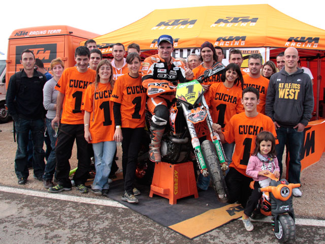 Imagen de Galeria de Francesc Cucharrera (KTM) campeón del CeSMotard