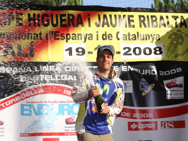 Iván Cervantes (KTM), El Señor del Enduro