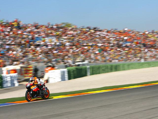 Dani Pedrosa (Honda) y el Circuito Ricardo Tormo, curva a curva