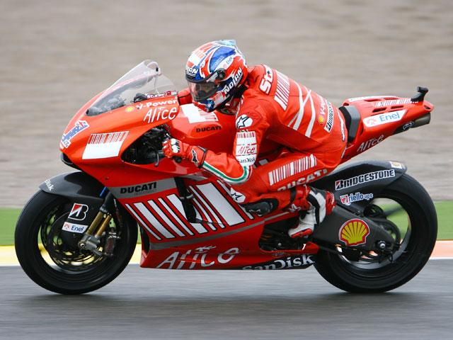 Imagen de Galeria de Novena pole de la temporada para Casey Stoner (Ducati)