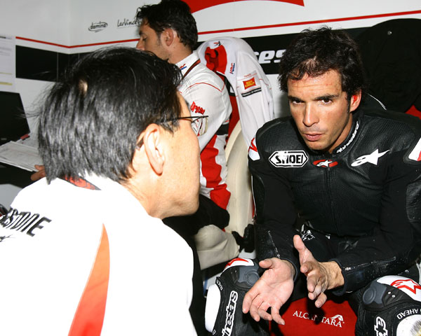 "Sete Gibernau (Ducati): ""Me lo he pasado muy bien"""