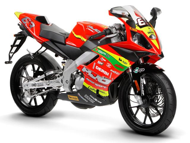 """Imagen de Galeria de Derbi GPR 50 Racing """"Di Meglio»"""