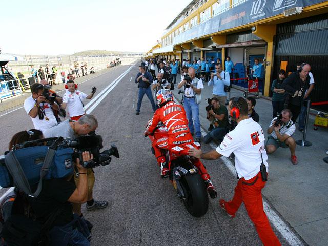 Imagen de Galeria de Primeras claves del estreno de la temporada 2009 de MotoGP