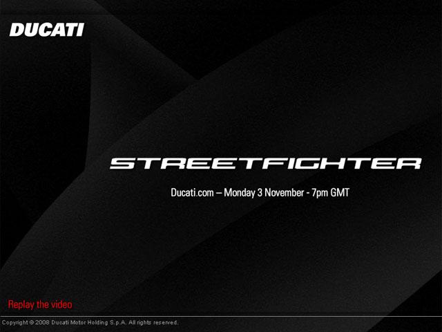Imagen de Galeria de La Ducati 1098 Streetfighter se presentará el lunes en Milán