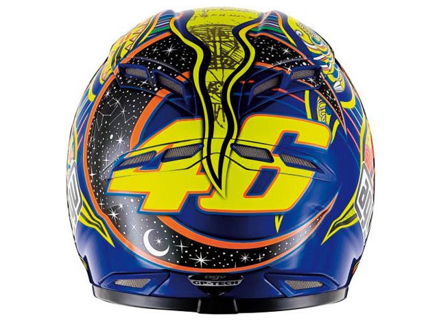 AGV GP-Tech Rossi Five Continents
