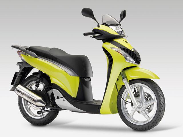 Novedades 2009: Honda SH 125i/150i Scoopy