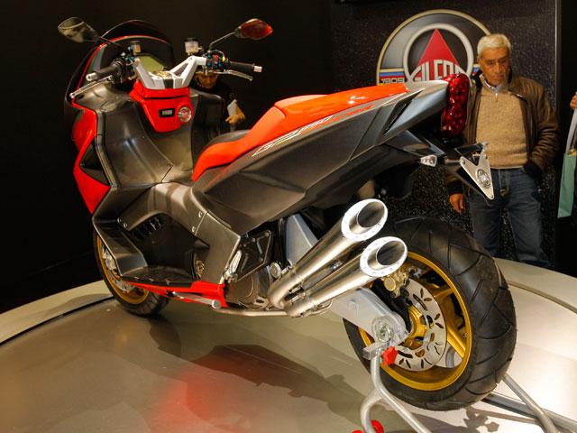 Novedades 2009: Gilera GP 850 Corsa