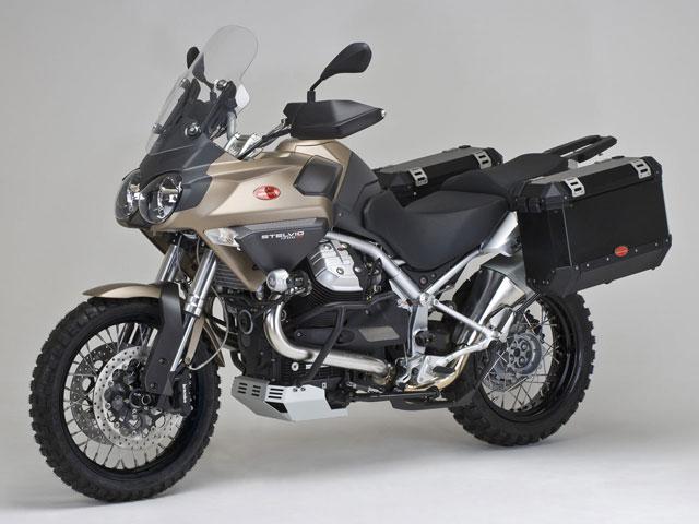 Novedades 2009: Moto Guzzi Stelvio 1200 TT