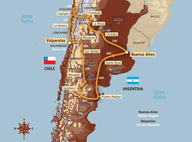 La expedición española del Dakar 2009 en moto: 19 héroes