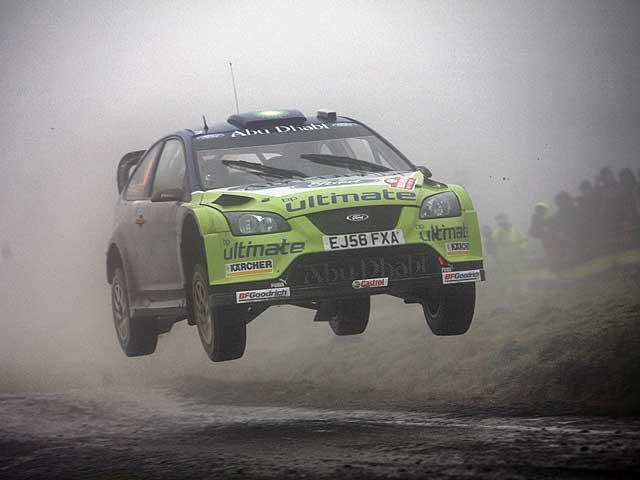 Valentino Rossi correrá el Rally de Gales con un Ford Focus RS WRC