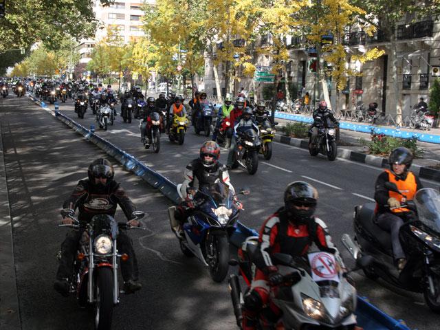 Imagen de Galeria de Manifestación Moteros 8N8. Más de 60.000 motos se reunen en Madrid