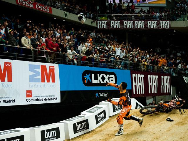 José Miralles, primero en el freestyle de la Copa de España Burn de Madrid
