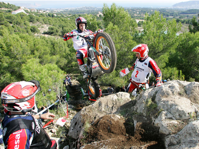 Raga (Gas gas) Campeón de España de Trial