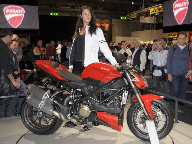 Imagen de Galeria de Ducati Streetfighter, la más bella del EICMA