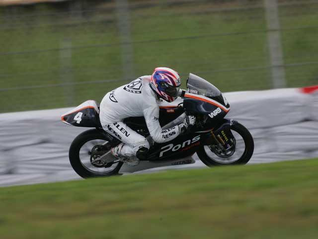 Axel Pons puede ser piloto de la escudería Pons Racing WRB