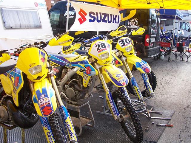 Campeonato de España de Enduro 2009: Suzuki te ayuda
