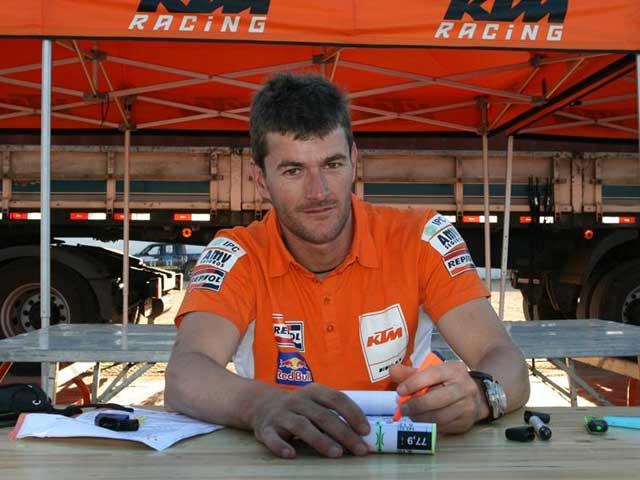 El equipo Repsol KTM Dakar presenta sus armas