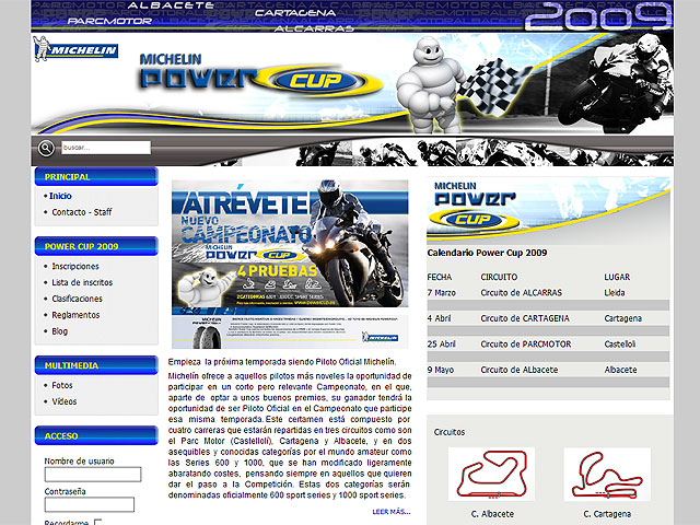 Michelin Power Cup 2009