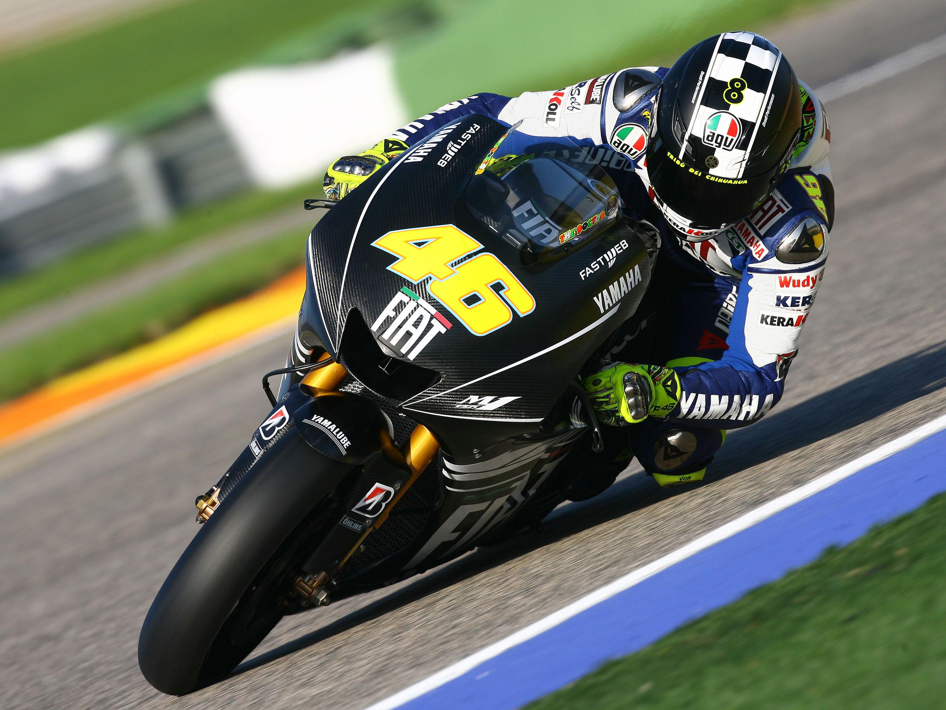 Rossi, en todas partes
