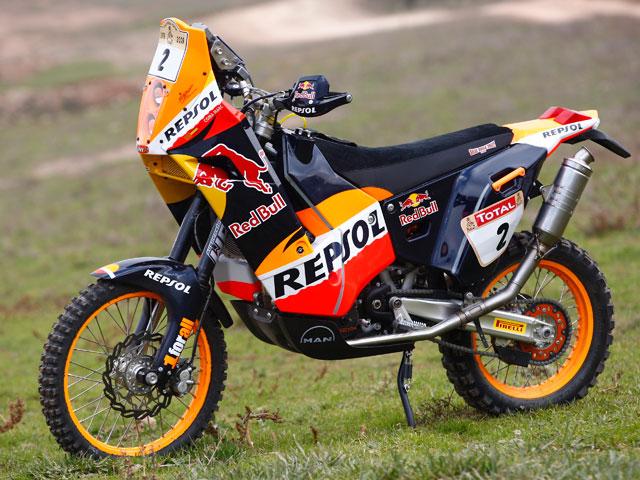 "Marc Coma (KTM): ""Saldremos a ganar el Dakar 2009"""
