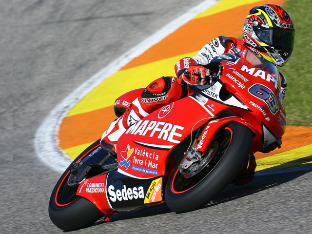 Bautista y Simón los más rápidos en Valencia
