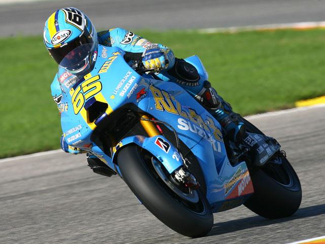 Capirossi (Suzuki) marca el ritmo y mejora Melandri (Kawasaki)