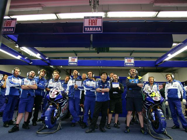 El equipo Fiat Yamaha mantendrá el muro