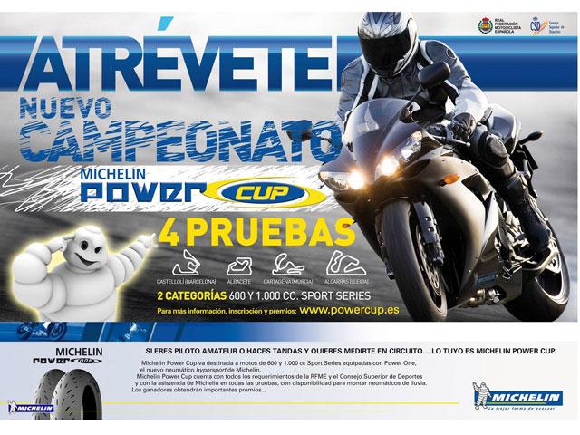 Michelin anuncia sus planes deportivos para motos 2009