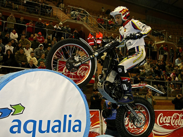 España vence el Trial Indoor de las Naciones 2008