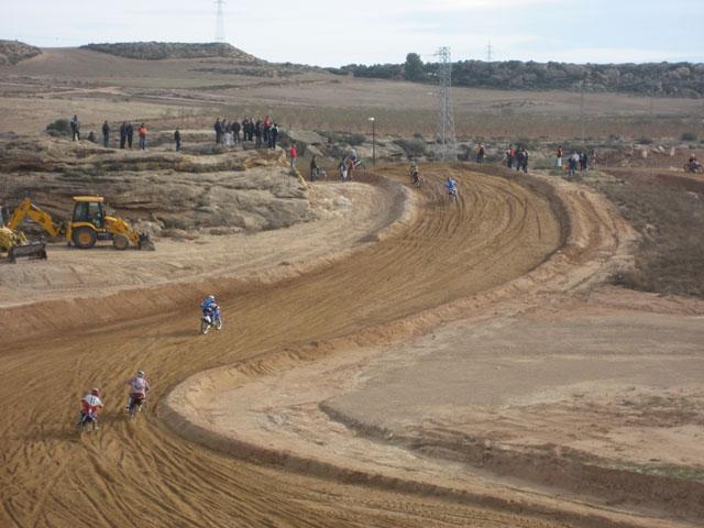 El circuito de Motocross de Motorland Aragón, inaugurado