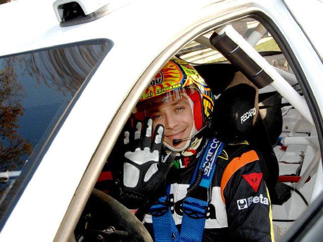 Valentino Rossi no descarta tener un futuro en los rallies