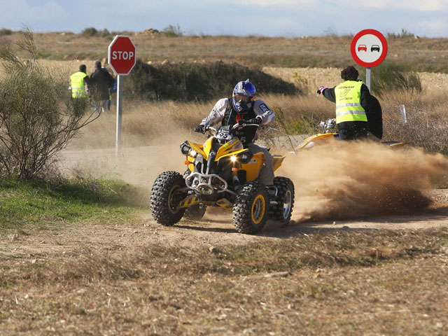 Campeonato nacional de raids para quads: Burn Gran Nacional