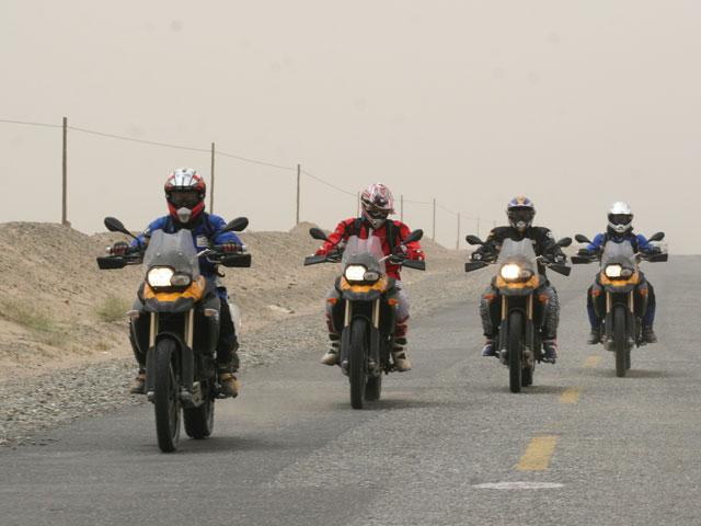Aventuras en Moto por China