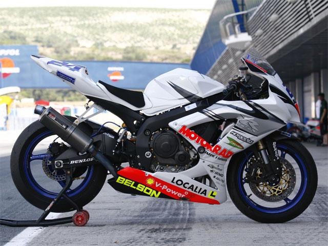 Las Suzuki del equipo Motorrad Competición del CEV, a la venta