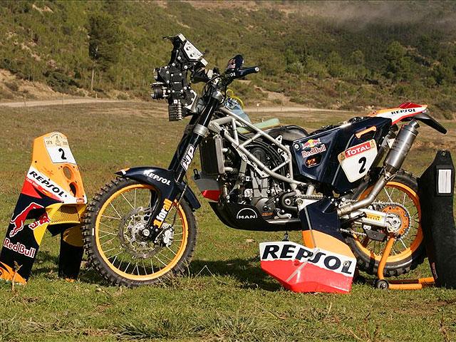 KTM 690 Rally Repsol