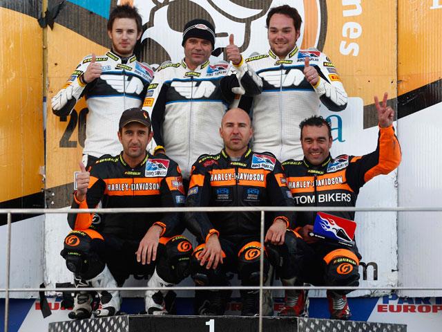 Harley Davidson y Buell BBQ Series 2008: Mas y Perejoan, campeones