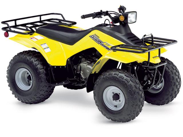 Suzuki ATV (1989-2001)  La era del ATV