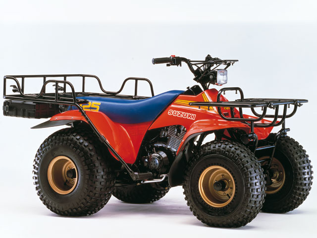 Suzuki ATV (1984-1988) Los pioneros