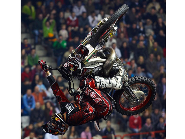 Imagen de Galeria de José Miralles, campeón de España de Motocross Freestyle 2008