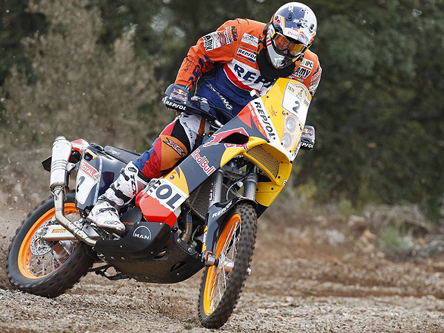 """Imagen de Galeria de Dakar 2009. Serios problemas de KTM con los """"mousses"""""""