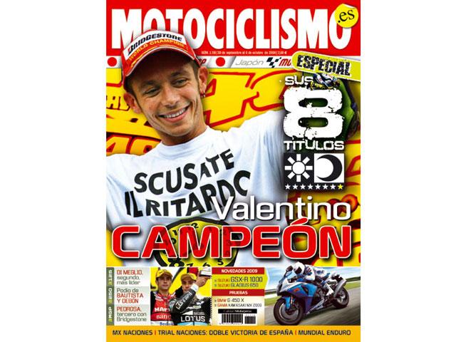 MOTOCICLISMO 2008: Las portadas del año