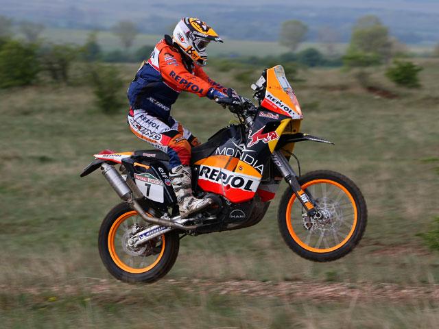 Dakar 2009. Coma (KTM) arrasa en la tercera etapa