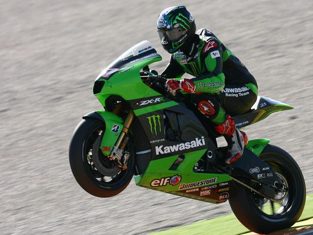 Melandri y Hopkins con problemas para continuar en MotoGP