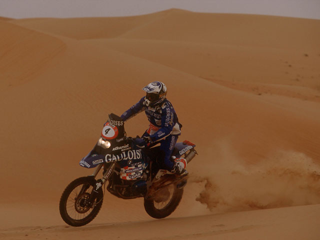 Imagen de Galeria de Dakar 2009. Coma (KTM) sigue mandando